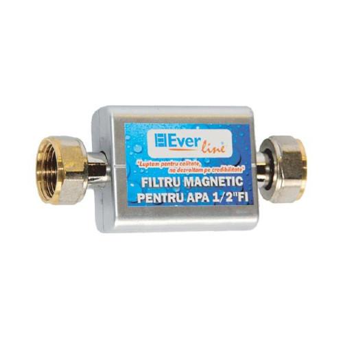 """Filtru magnetic Everline 1/2"""" FI, filtru anticalcar"""