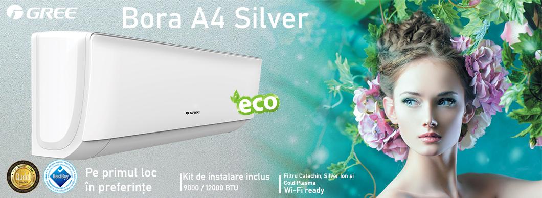 Aer conditionat Gree Bora A4 Silver