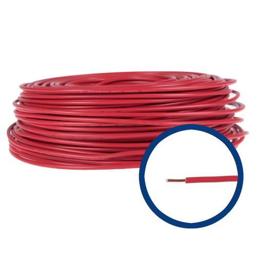 Cablu electric FY 4 rosu, rola 100 m