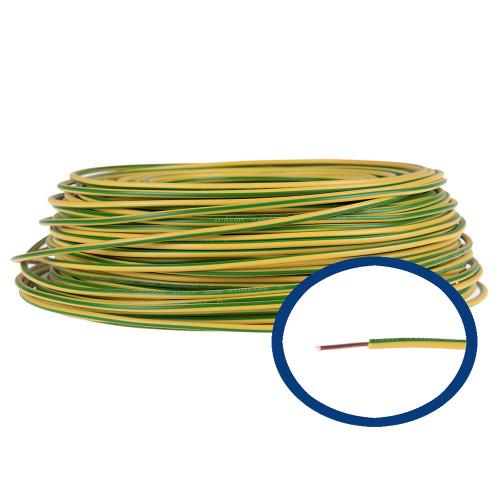 Cablu electric FY 4 galben/verde, rola 100 m