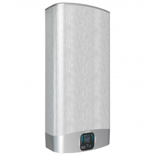 Boiler electric Ariston VELIS EVO PLUS 50 EU, 50 litri, Afisaj Inteligent, 2 rezervoare emailate cu titan, instalare V/O