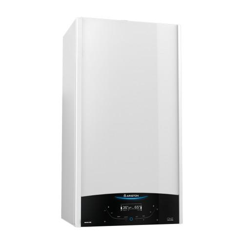 Centrala termica in condensare Ariston GENUS ONE SYSTEM 30, capacitate 30 kW, afisaj LCD, doar incalzire, Functie AUTO, Silentioasa