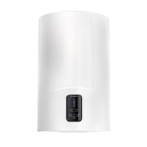 Boiler electric Ariston Lydos ECO 80 V 1.8K, capacitate 80 litri, Tehnologie WaterPlus, Protectie rezervor TitanShield, ECO EVO, setare manuala temperatura