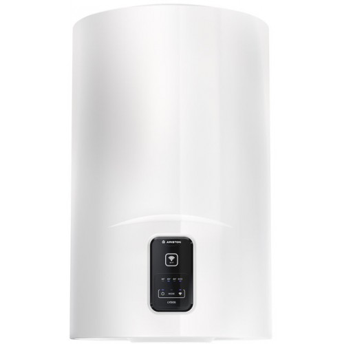 Boiler electric Ariston Lydos WIFI 80 V 1.8K, capacitate 80 litri, Tehnologie WaterPlus, Protectie rezervor TitanShield, Control WiFi