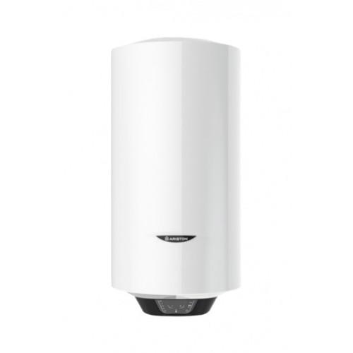 Boiler electric Ariston Pro1 ECO Slim 65 V 1,8K PL EU, 65 litri, Economie ECO EVO, Tehnologiei WaterPlus, Ecran inteligent, Supapa siguranta, Functia T-MAX