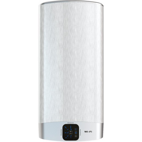 Boiler electric Ariston VELIS WiFi 50 EU, 50 litri, Afisaj Inteligent, 2 rezervoare emailate cu titan, instalare V/O
