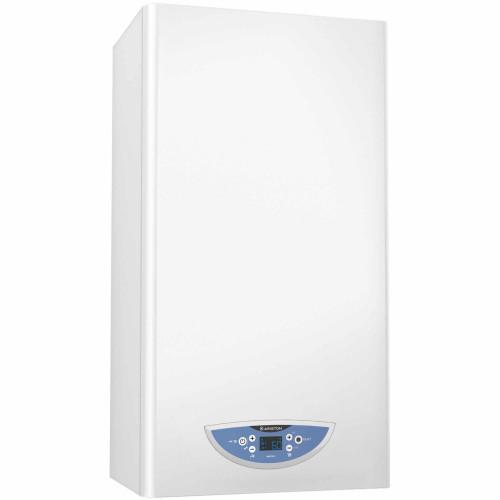Centrala termica in condensare Ariston Matis Condens Plus 24, capacitate 24 kW, afisaj LCD, ACM instant, kit evacuare inclus