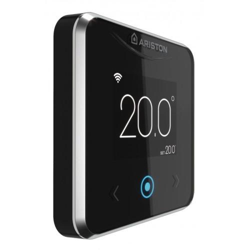 Termostat ambient inteligent Ariston CUBE S NET, control prin internet, programabil
