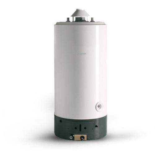 Boiler pe gaz Ariston SGA 300, 290 litri, montaj pardoseala, reglare temperatura, tiraj natural