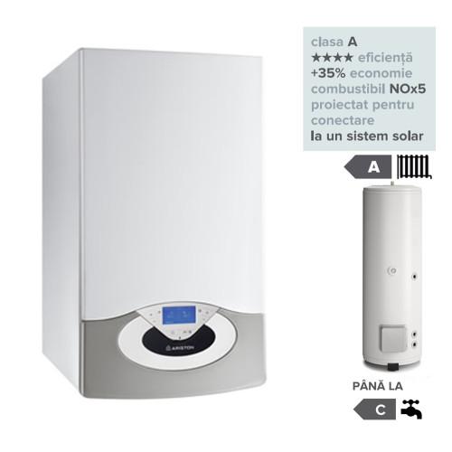 Pachet centrala termica in condesare Genus Premium HP Evo 65 EU cu boiler indirect BC1S 300 EU