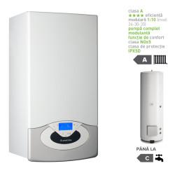 Pachet centrala termica in condesare Genus Premium System Evo 30 EU cu boiler indirect BC1S 300 EU