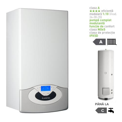 Pachet centrala termica in condesare Genus Premium System Evo 35 EU cu boiler indirect BC1S 300 EU