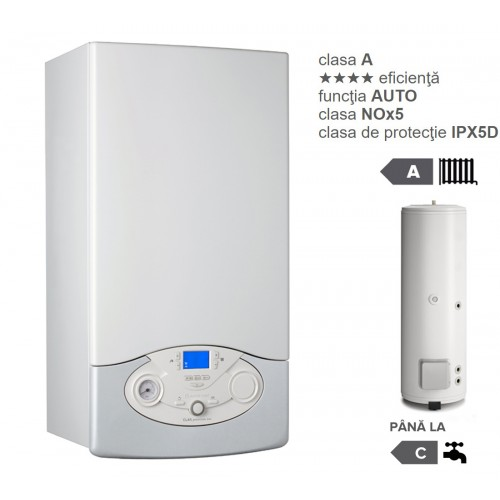 Pachet centrala termica in condesare Clas Premium System Evo 35 EU cu boiler indirect BC1S 300 EU