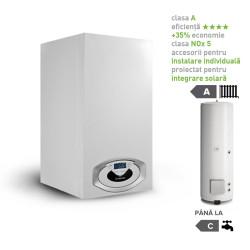 Pachet centrala termica in condesare Genus Premium HP Evo 100 EU cu boiler indirect BC1S 450 EU