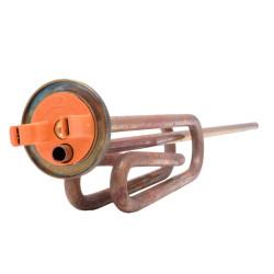 Rezistenta electrica pentru boiler electric Ariston Lydos R si Pro R EVO, capacitate 1800 W, cod piesa 65115417