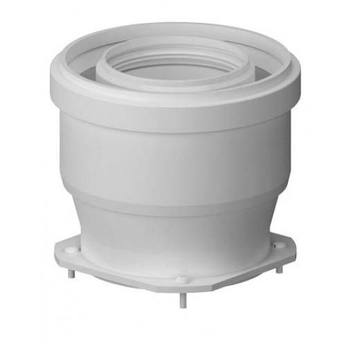 Plecare verticala kit evacuare centrala termica condensare ATI Tip 10, diametru 80 / 125, PP / PP, WBPP61010, Compatibil Immergas