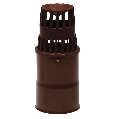 Capat pentru terminatie verticala evacuare gaze arse ATI WM45-810PA, diametru 80 mm, Maro