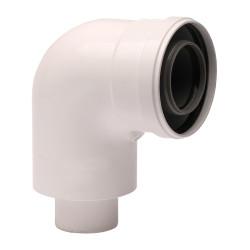 Cot plecare kit evacuare centrala termica condensare ATI Tip 01, PP/ALL, 60 / 100