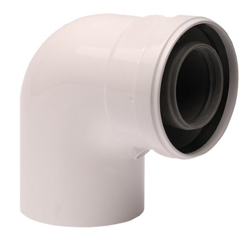 Cot plecare kit evacuare centrala termica condensare ATI Tip 02, PP/ALL, 60 / 100