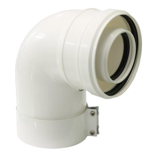 Cot plecare kit evacuare centrala termica condensare ATI Tip 01, PP/PP, diametru 60 / 100