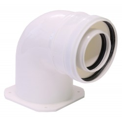 Cot plecare kit evacuare centrala termica condensare ATI Tip 04, PP/PP, diametru 60 / 100