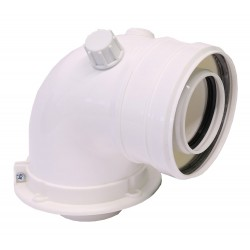 Cot plecare kit evacuare centrala termica condensare ATI Tip 06, PP/PP, diametru 60 / 100