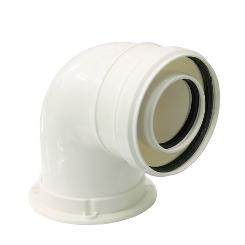 Cot plecare kit evacuare centrala termica condensare ATI Tip 08, PP/PP, diametru 60 / 100