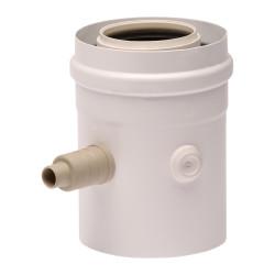 Piesa evacuare condens centrala condensare ATI, diametru 60/100, PP/ALL, WBSCV610