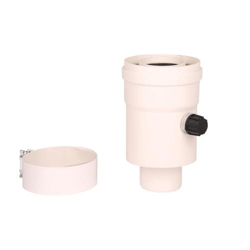 Plecare verticala kit evacuare centrala termica condensare ATI Tip 1, diametru 60 / 100, PP / PP, Compatibil Ariston Berretta Riello Vaillant Chaffoteaux