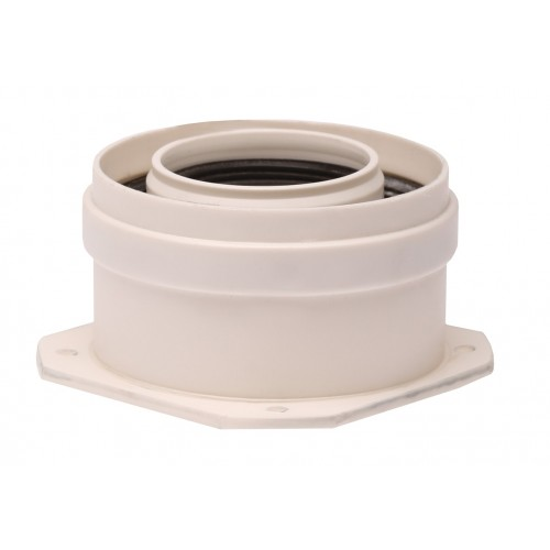 Plecare verticala kit evacuare centrala termica condensare ATI Tip 4, diametru 60 / 100, PP / PP, WBPP61004, Compatibil Immergas