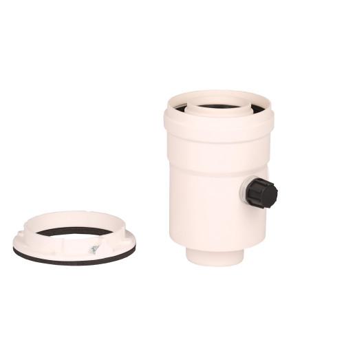Plecare verticala kit evacuare centrala termica condensare ATI Tip 7, diametru 60 / 100, PP / PP, WBPP61007, Compatibil Radiant