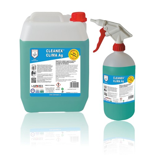 Agent curatare actiune antibacteriana pentru aparate aer conditionat Chemstal Cleanex Clima Ag 5 kg