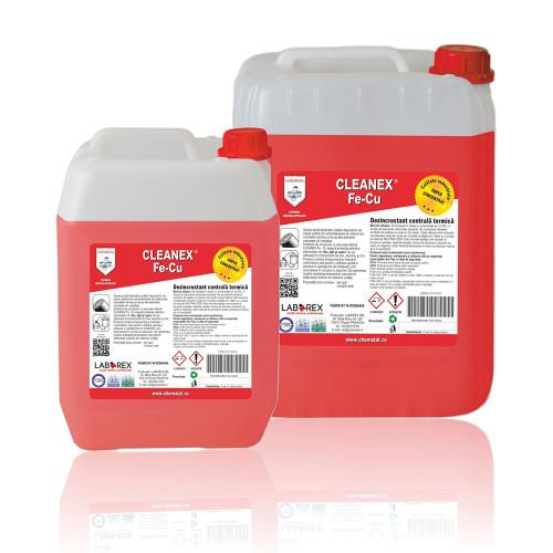 Dezincrustant pentru centrale termice Chemstal Cleanex Fe-Cu 5 kg
