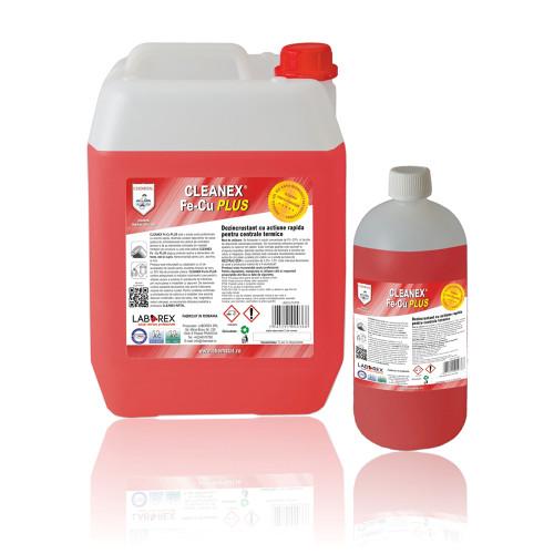 Dezincrustant actiune rapida pentru centrale termice Chemstal Cleanex Fe-Cu PLUS 1,25 kg