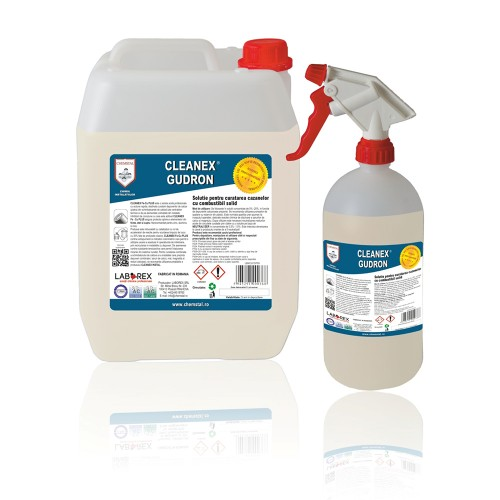 Solutie pentru curatarea cazanelor combustibil solid Chemstal Cleanex Gudron 1 kg
