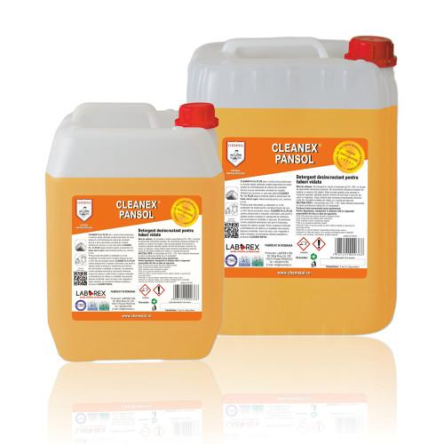 Detergent dezincrustant pentru exteriorul panourilor solare Cleanex Pansol 5 kg