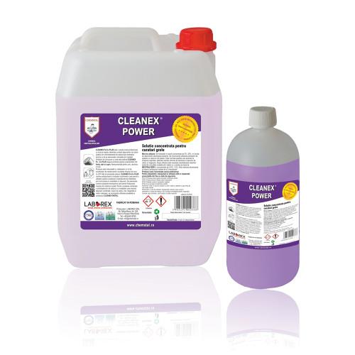 Solutie concentrata pentru spalari grele Chemstal Cleanex Power 5 kg