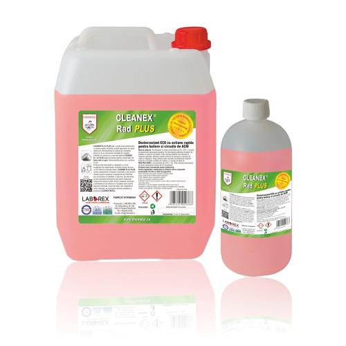 Dezincrustant ECO actiune rapida pentru boilere si circuite sanitare Chemstal Cleanex Rad PLUS 10 kg