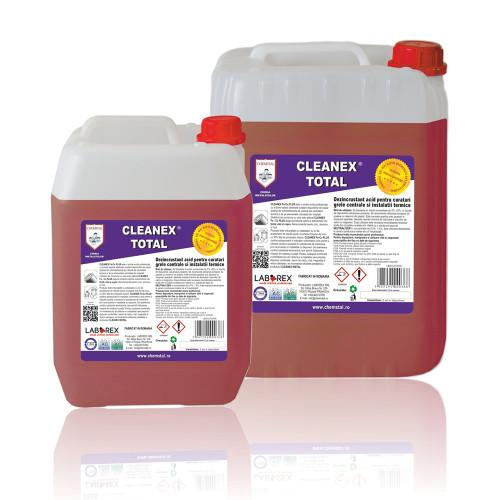 Dezincrustant acid curatari grele instalatii termice Chemstal Cleanex Total 5 kg