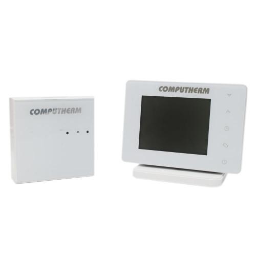 Termostat ambient Computherm E400RF, fara fir, comanda prin internet, ecran tactil