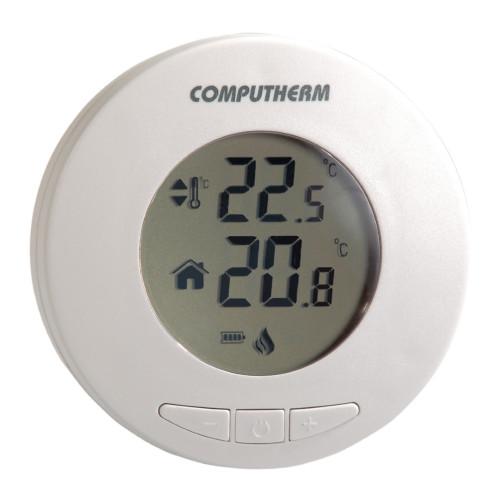 Termostat centrala termica Computherm T30 cu fir, display circular, alb