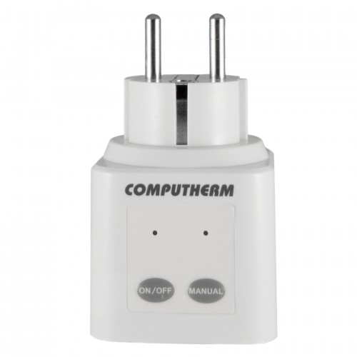 Receptor-priza comandat prin radiofrecventa Computherm Q1RX