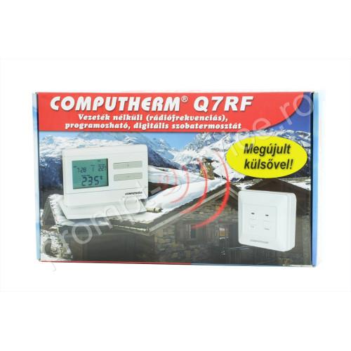 Termostat centrala termica Computherm Q7 RF wireless (fara fir) programabil