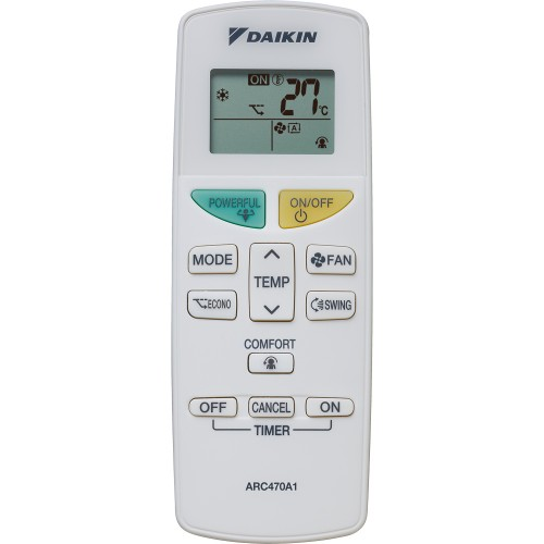 Aer conditionat Daikin Sensira FTXF35A / RXF35A 12000 BTU, A++, Filtru praf, Auto Restart, Confort, Alb