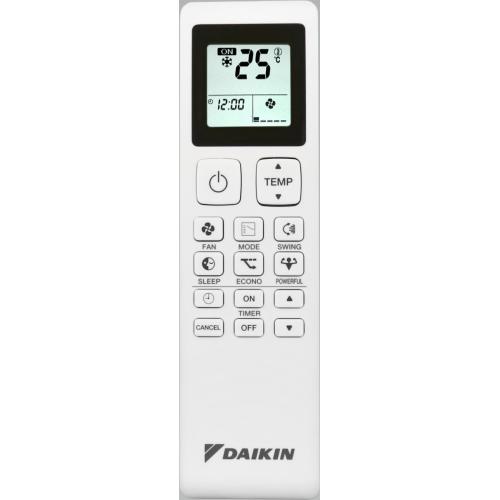 Aparat de aer conditionat Daikin Sensira FTXC25C / RXC25C 9000 BTU, A++, Filtru deodorizant cu apatit de Titan, Filtru praf, Auto Restart, Confort, Alb