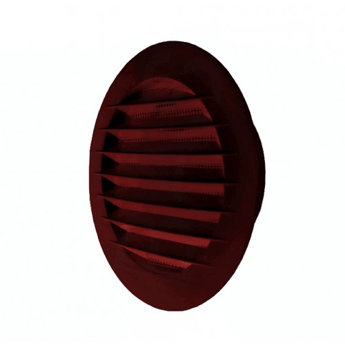 Grila ventilatie circulara cu plasa de insecte Dospel KRO 150 /B