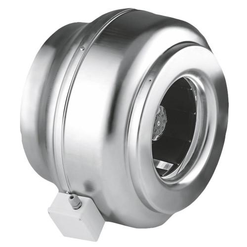 Ventilator industrial centrifugal de tubulatura Dospel WK 250, 1600 mc/h, diametru 250 mm, corp otel galvanizat