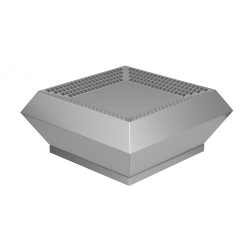 Ventilator industrial de acoperis Dospel WDD 250, debit aer 1600 m³/h, corp otel galvanizat