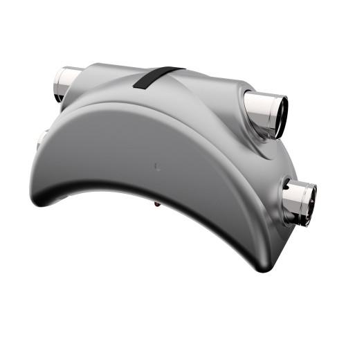 Centrala ventilatie aer Dospel Luna 200, debit aer 200 mc/h, diametru 150 mm