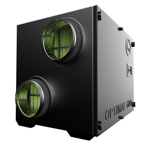 Centrala ventilatie aer Dospel Optimal 600, debit aer 600 mc/h, diametru 198 mm